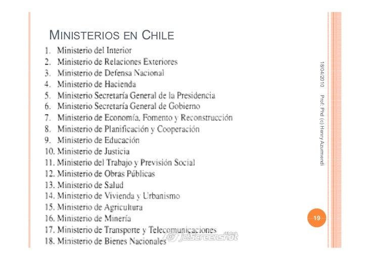 Clase estructura de la nacion 2010 - Estructura ministerio del interior ...