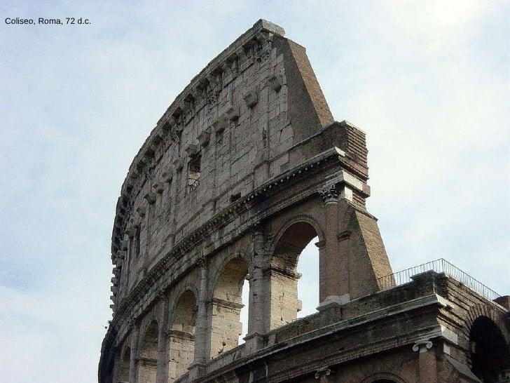 Coliseo, Roma, 72 d.c.