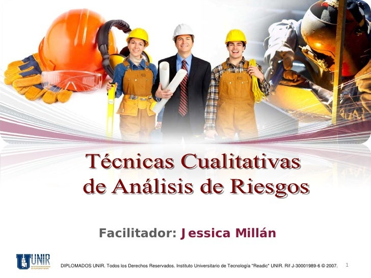 """Facilitador: Jessica MillánDIPLOMADOS UNIR. Todos los Derechos Reservados. Instituto Universitario de Tecnología """"Readic"""" ..."""