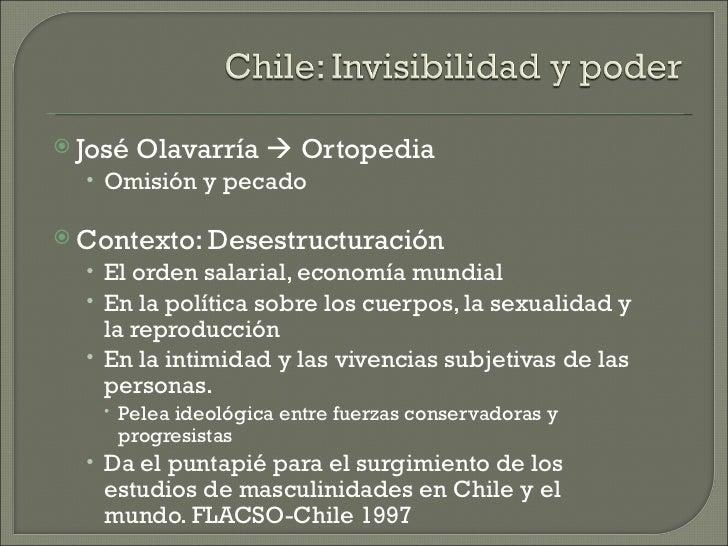  José   Olavarría  Ortopedia  • Omisión y pecado Contexto: Desestructuración  • El orden salarial, economía mundial  • ...