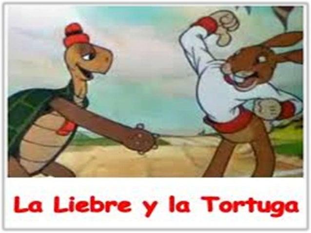 • Una tortuga y una liebre siempre discutían sobre quien era mas rápida. • Para solucionar el conflicto de opiniones, deci...