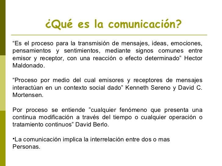 proceso de comunicación Slide 3