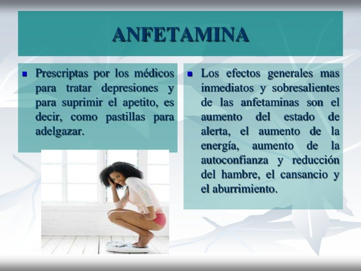 Anfetaminas para adelgazar nombres comerciales de ibuprofeno