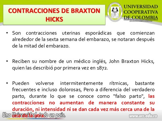 Contracciones de Braxton Hicks