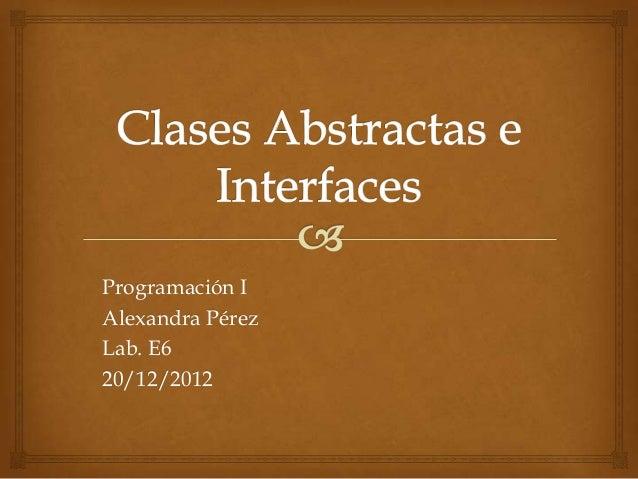 Programación IAlexandra PérezLab. E620/12/2012