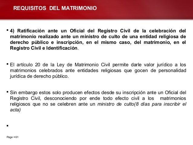 Matrimonio In Articulo Mortis : Clases dº civil iii