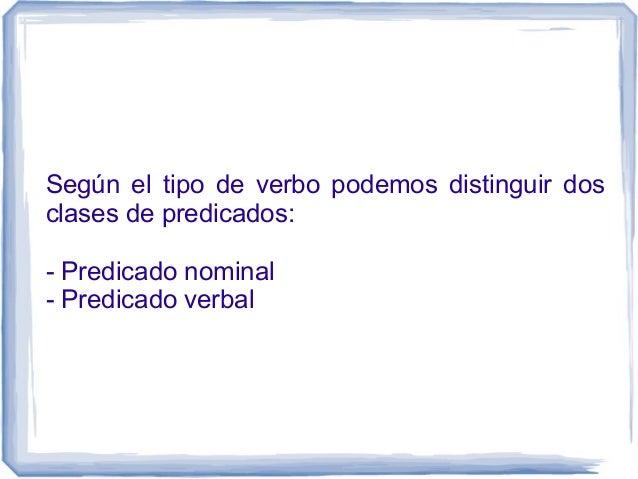 Clases de predicado Slide 2