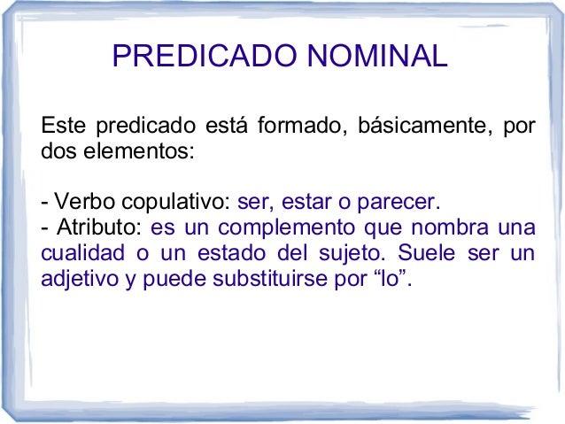 Clases de predicado Slide 3