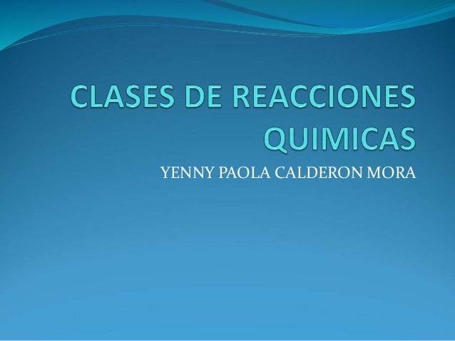 YENNY PAOLA CALDERON MORA