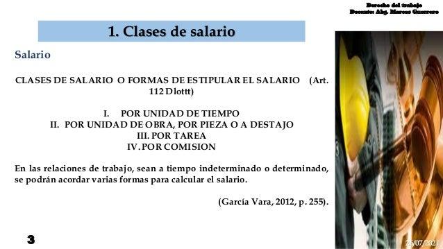 Clases de salario Slide 3
