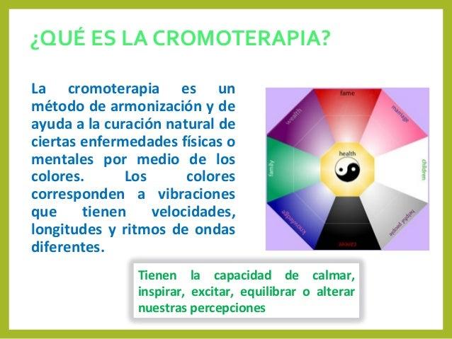 Clase semana 12 cromoterapia Slide 2