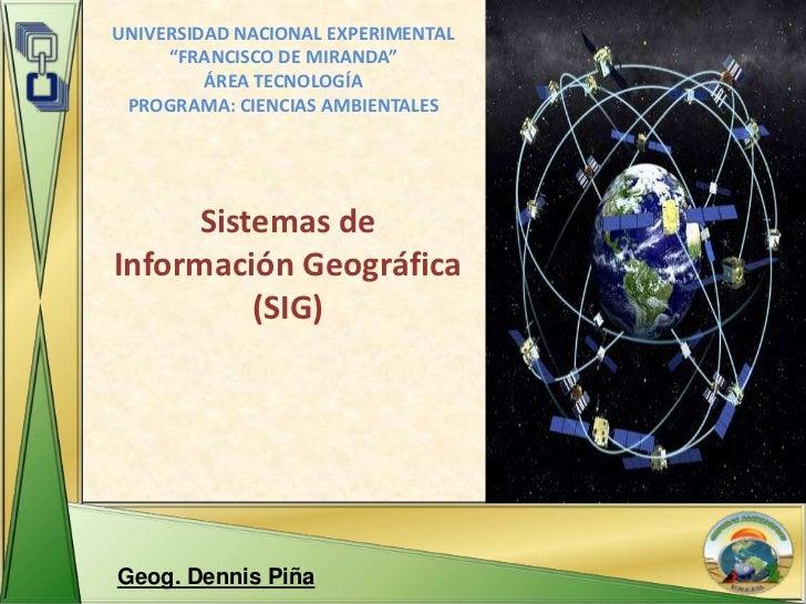 """UNIVERSIDAD NACIONAL EXPERIMENTAL     """"FRANCISCO DE MIRANDA""""         ÁREA TECNOLOGÍA PROGRAMA: CIENCIAS AMBIENTALES      S..."""