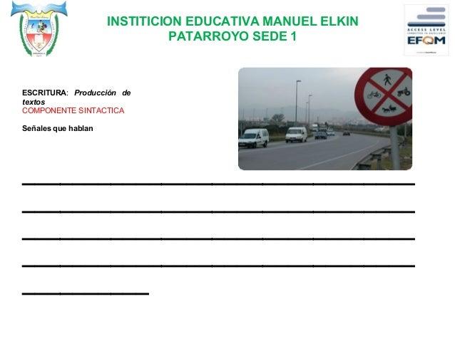 INSTITICION EDUCATIVA MANUEL ELKIN PATARROYO SEDE 1 ACTIVIDAD 2. 1.Observa y relacione. ¿Quien tubo la culpa en este accid...