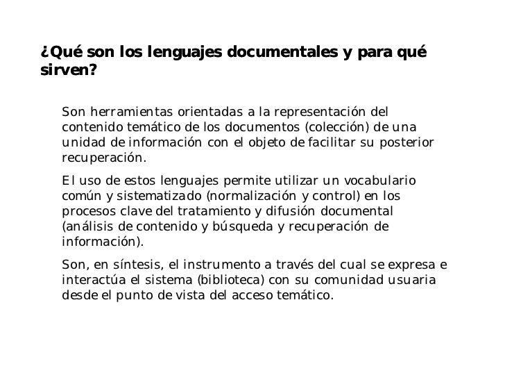 Clase sobre lenguaje Documental Slide 2