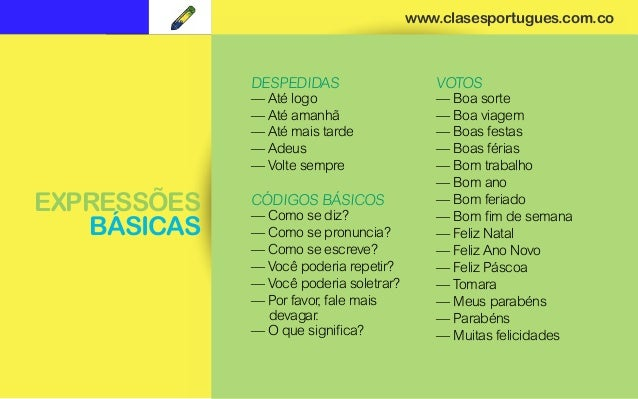 clases portugues curso b225sico en linea