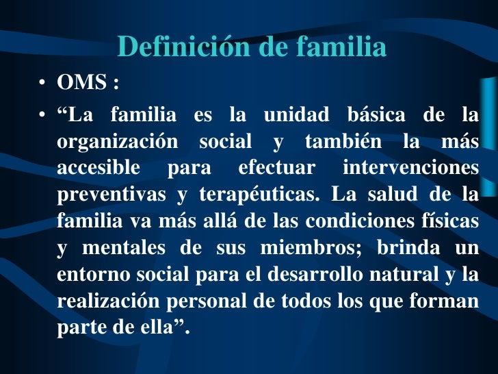 Clase tipolog a segun conseso medicina familiar for Concepto de familia pdf