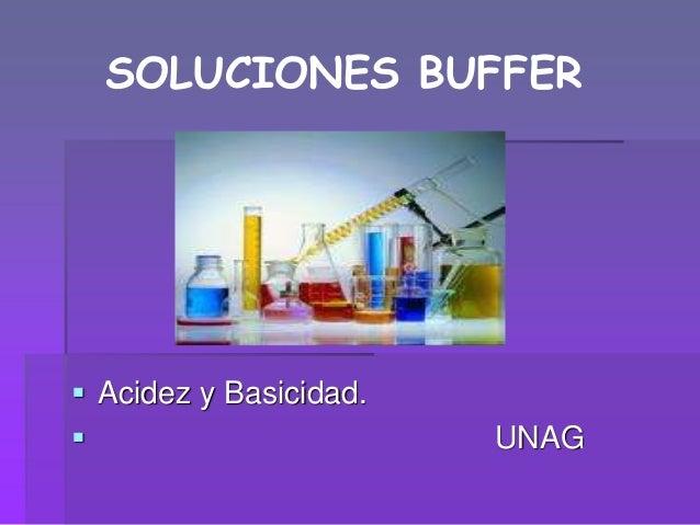 Tipos de buffer quimica