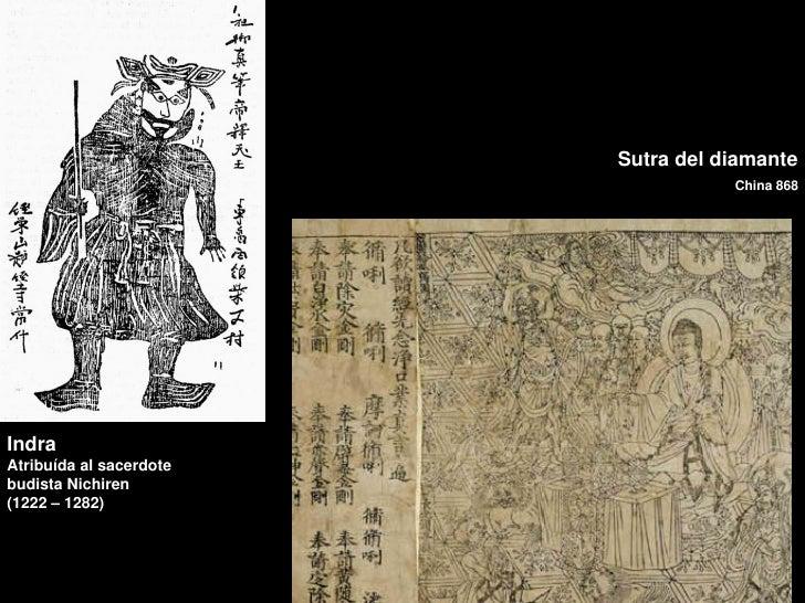 Sutra del diamante                                    China 868IndraAtribuída al sacerdotebudista Nichiren(1222 – 1282)