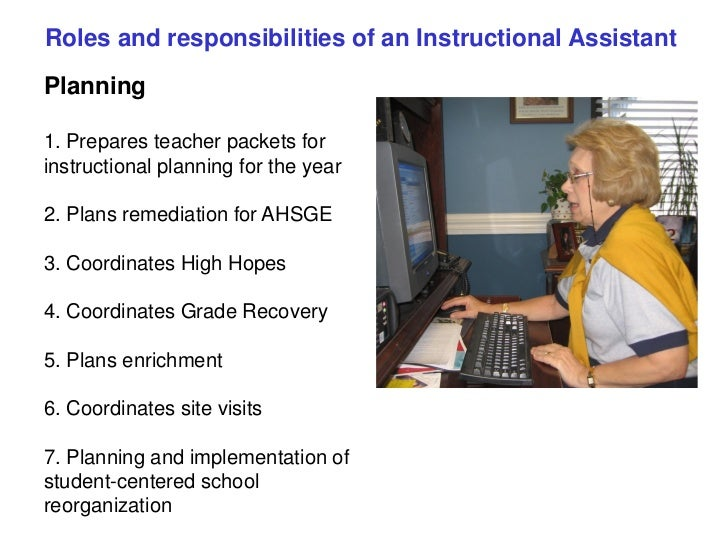 Clas Instructional Assistant 2012