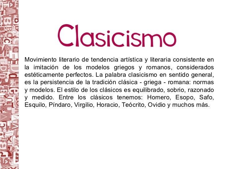 Clasicismo 2 Slide 2