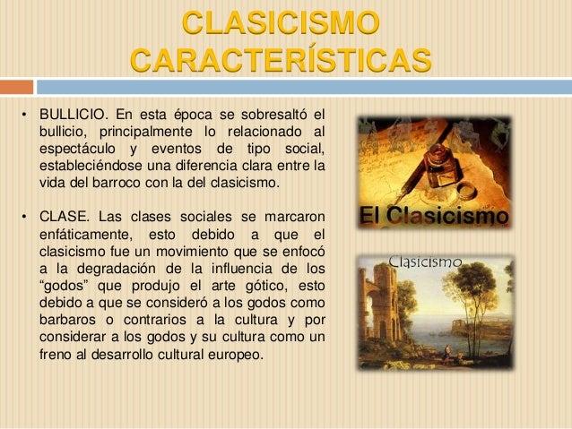 Clasicismo y concreto - Epoca del clasicismo ...