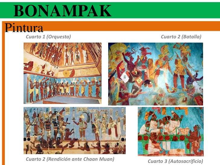 Cl sico tard o maya for Bonampak cuarto 2