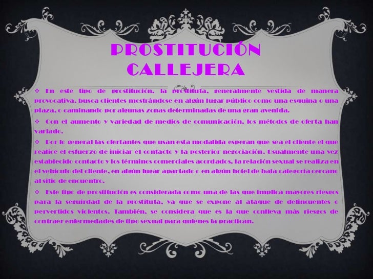 medios de comunicación social prostituta callejera fantasía