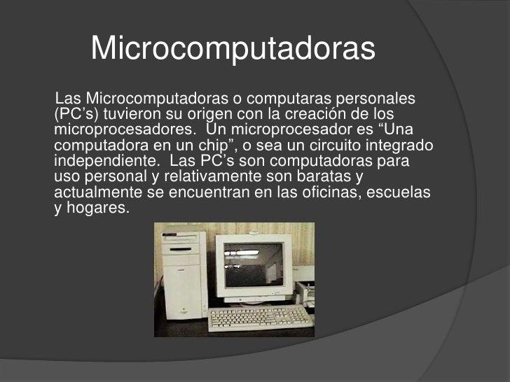 Clasificaci n de las computadoras for Cuales son las caracteristicas de la oficina