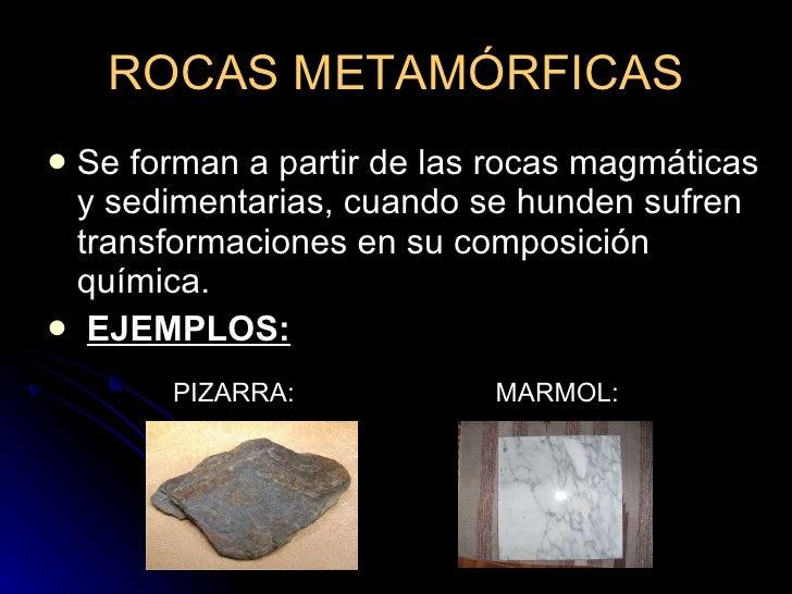 Clasificaci n de las rocas for Marmol clasificacion