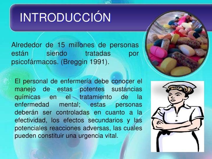 Clasificación de los psicofármacos Slide 2