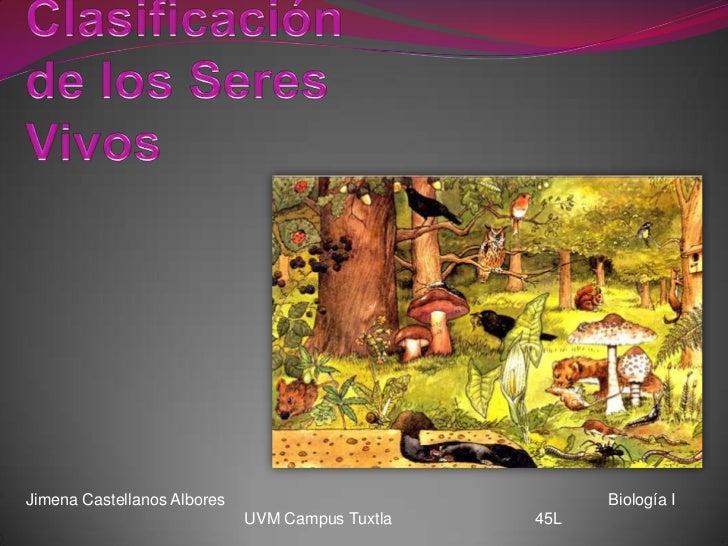 Jimena Castellanos Albores                             Biología I                             UVM Campus Tuxtla   45L