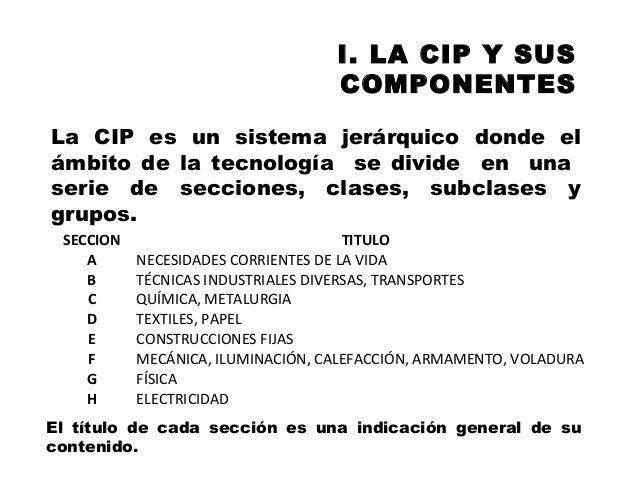 Clasificación de patentes y su utilidad. INAPI Slide 3