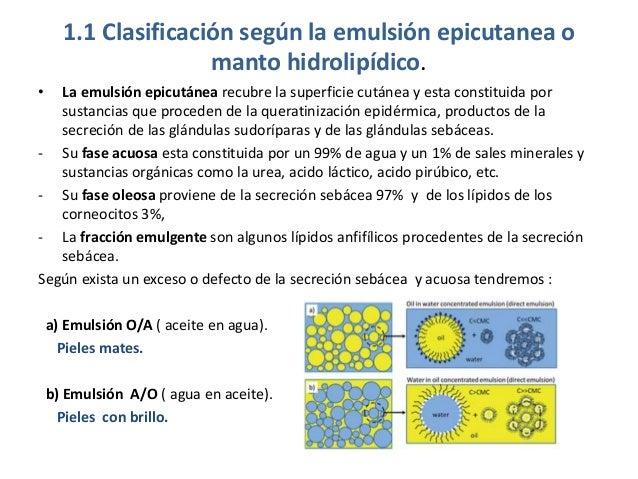 Clasificación piel  según emulsión epicutanea Slide 2