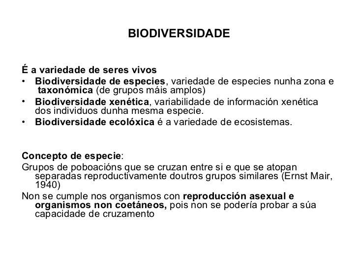BIODIVERSIDADE <ul><li>É a variedade de seres vivos </li></ul><ul><li>Biodiversidade de especies , variedade de especies n...