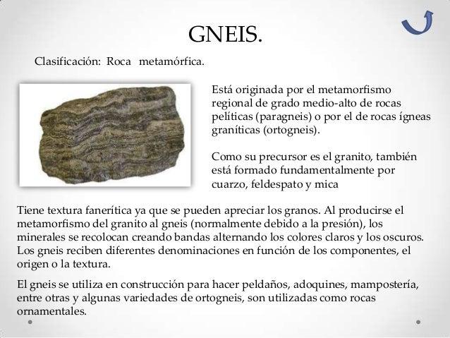 Clasificaci n y caracter sticas de las rocas for Roca definicion