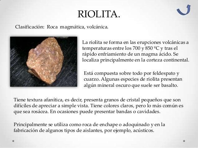 Clasificaci n y caracter sticas de las rocas for Como se vende el granito