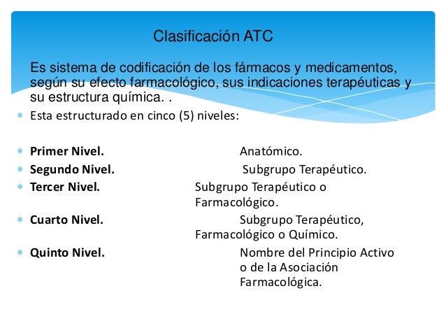Clasificacion atc