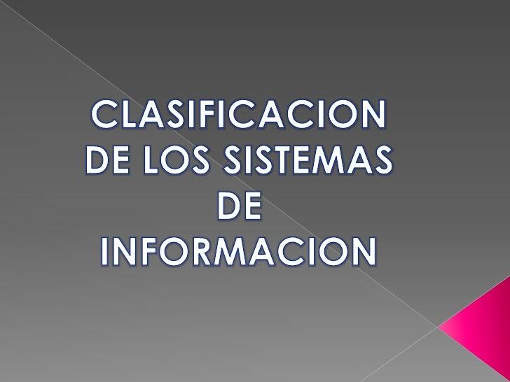    Un sistema de información (SI) es un conjunto organizado de elementos, los     cuales formarán parte de alguna de las ...