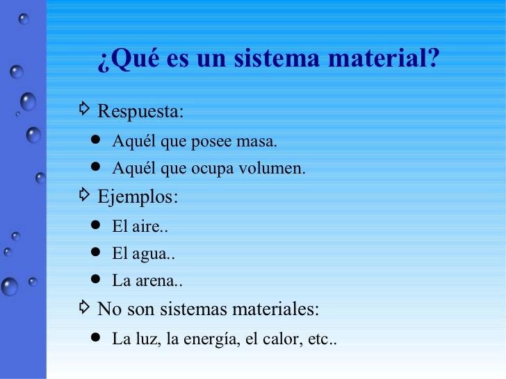 Clasificación de la materia Slide 2