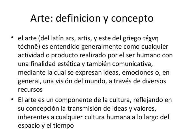 Clasificacion de las artes Arte arquitectura y diseno definicion