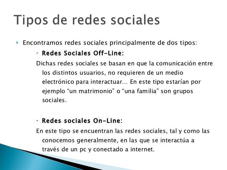 Clasificacion de las redes sociales Slide 2