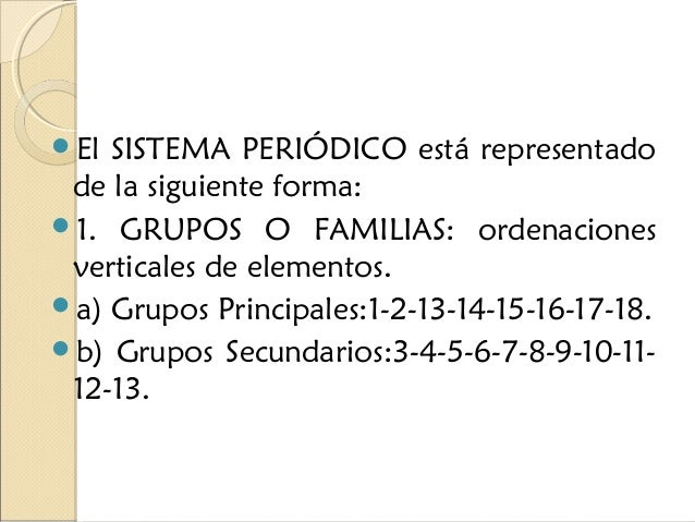 5 - Tabla Periodica Clasificacion Grupos