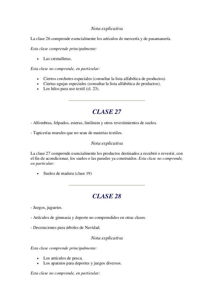 Clasificacion de niza for Clasificacion de alfombras
