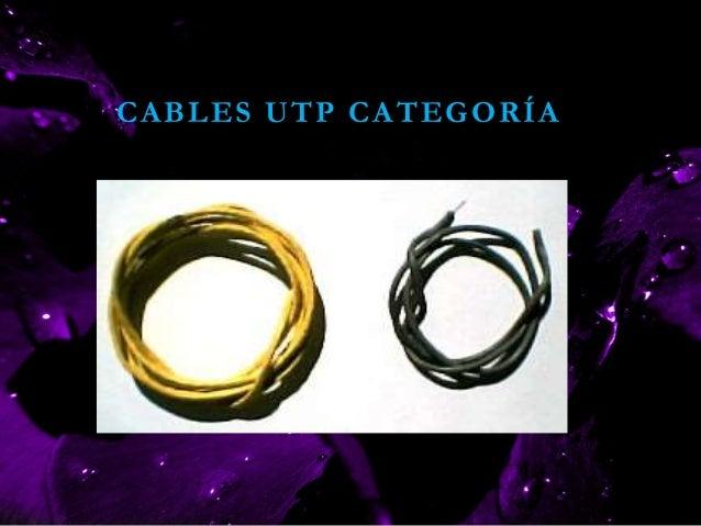 CABLES UTP CATEGORÍA 5