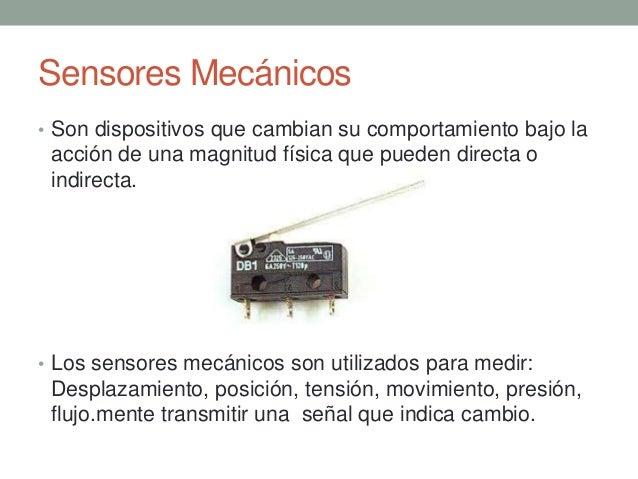 Clasificacion De Sensores
