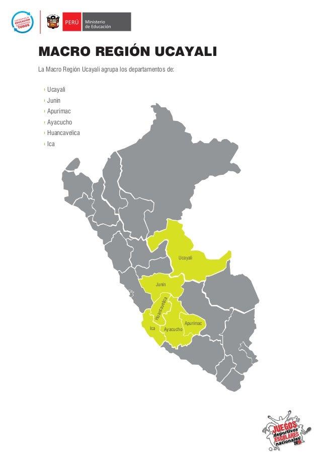 """Clasificados Macro Región Ucayali Cat. """"C"""" Slide 2"""