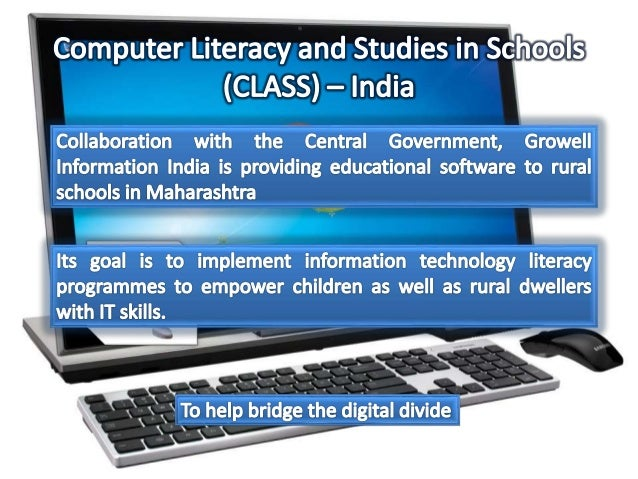 computer literacy and awareness in schools