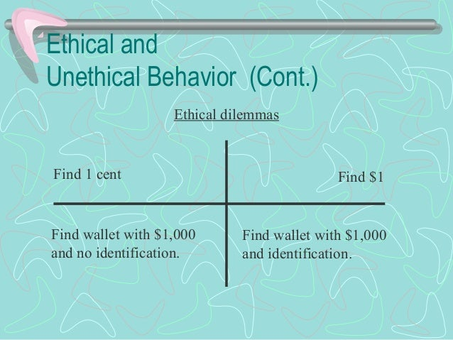 how to fix unethical behavior theories
