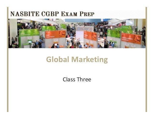 GlobalMarketingClassThree