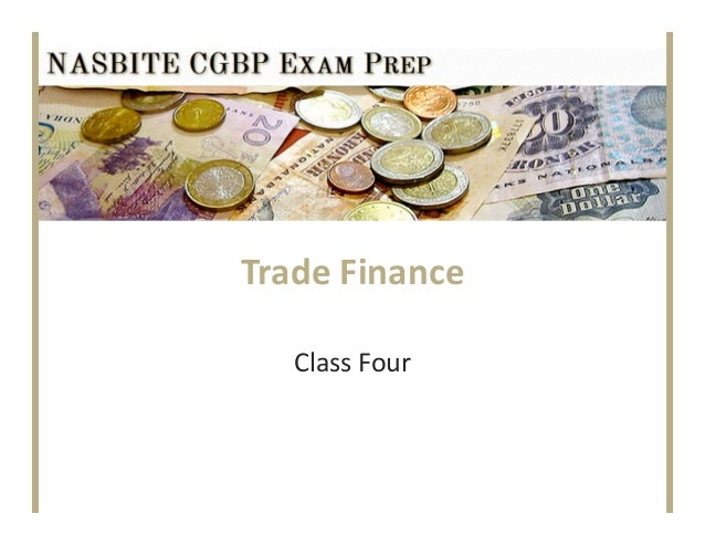 TradeFinanceClassFour